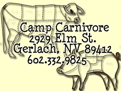 Camp Carnivore - Meet to Meat